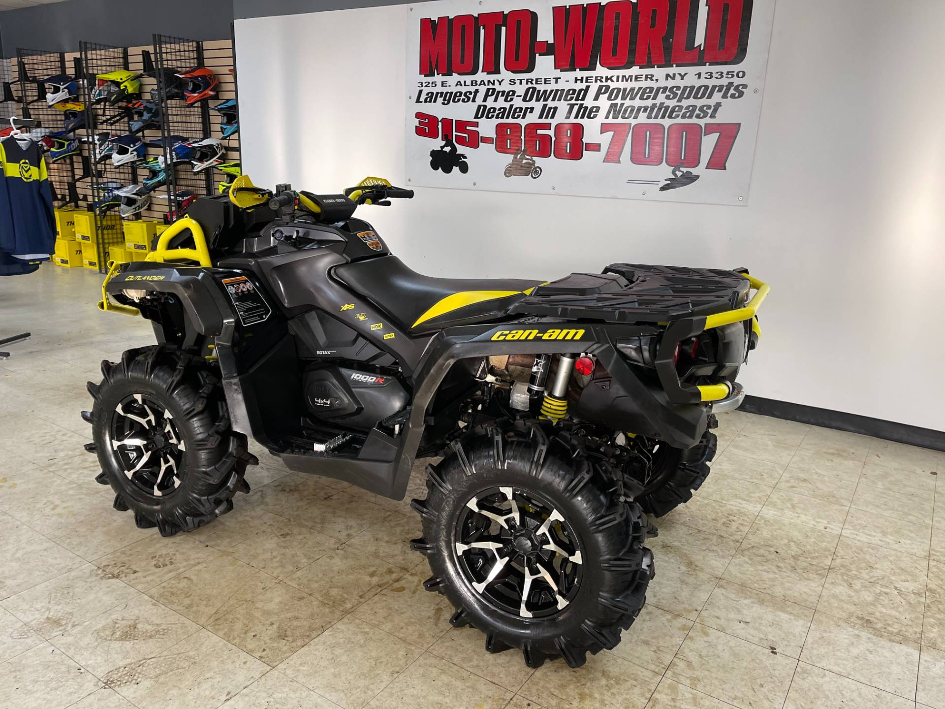 2018 Can-Am Outlander X mr 1000R in Herkimer, New York - Photo 4
