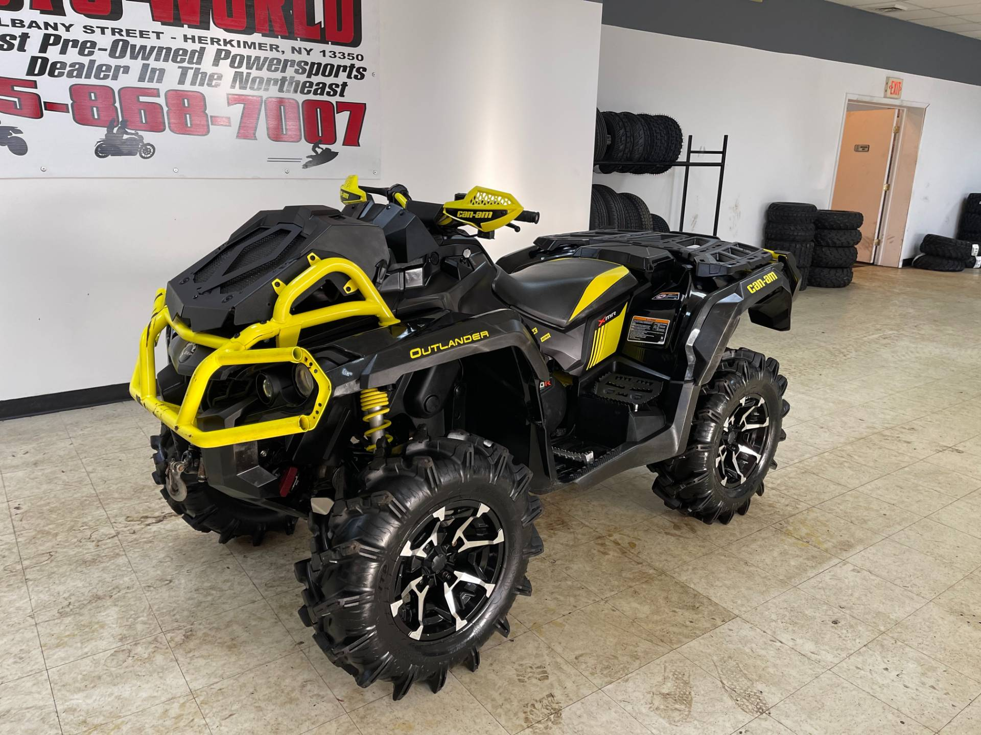 2018 Can-Am Outlander X mr 1000R in Herkimer, New York - Photo 5