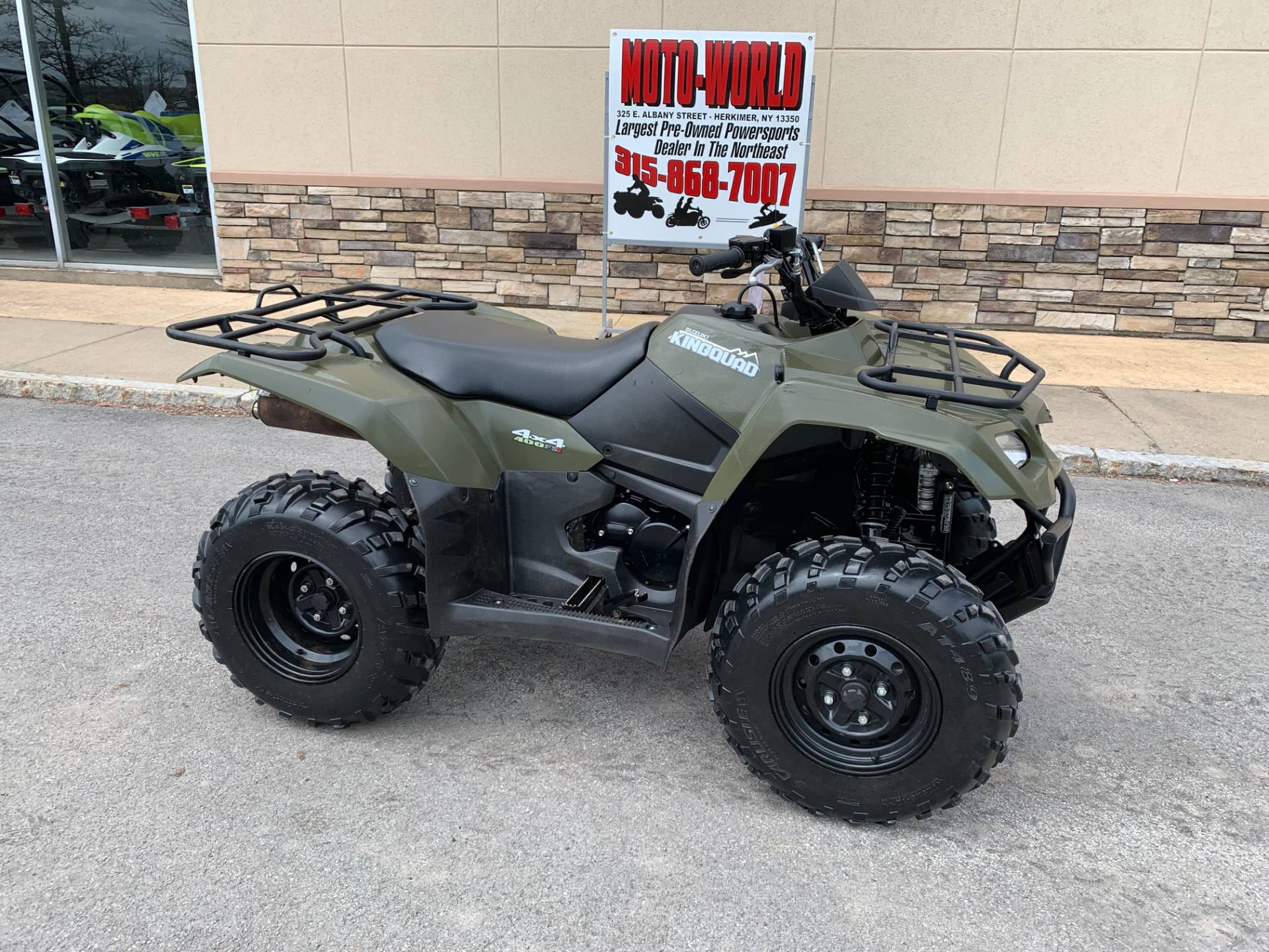 2017 Suzuki KingQuad 400FSi in Herkimer, New York - Photo 2
