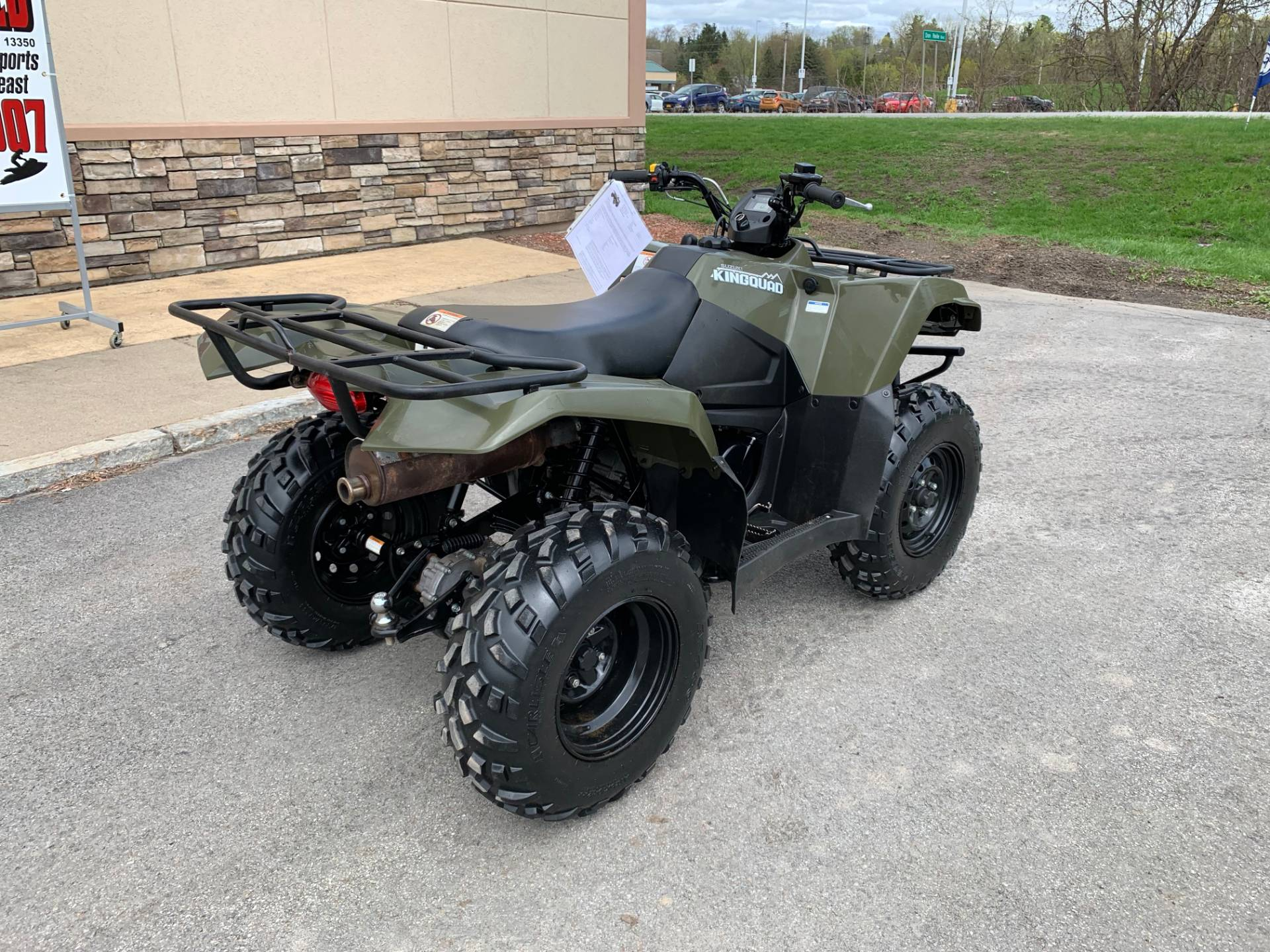 2017 Suzuki KingQuad 400FSi in Herkimer, New York - Photo 4