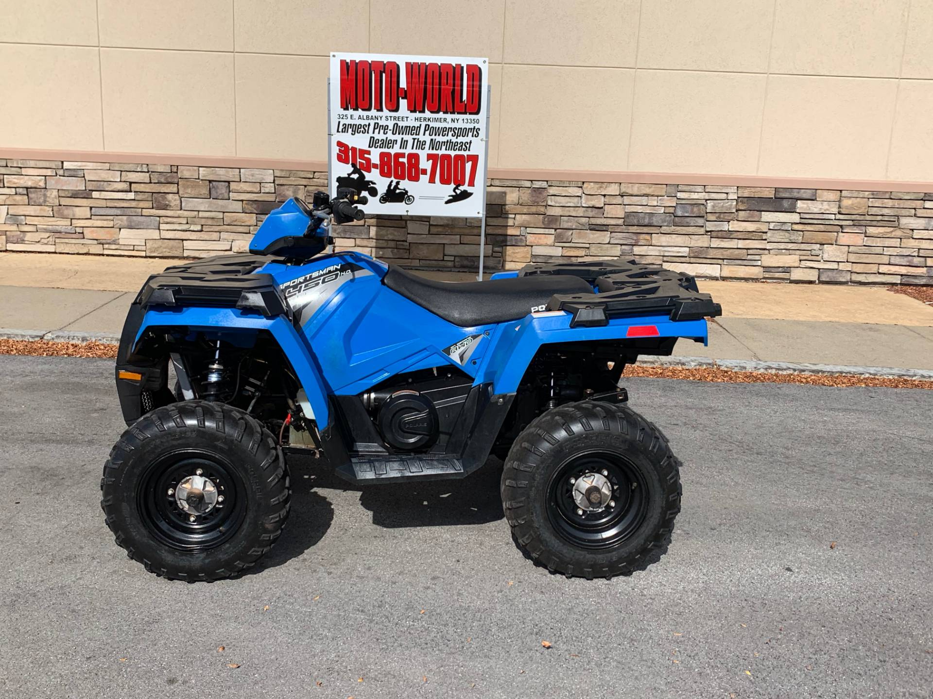 2017 Polaris Sportsman 450 H.O. in Herkimer, New York - Photo 2