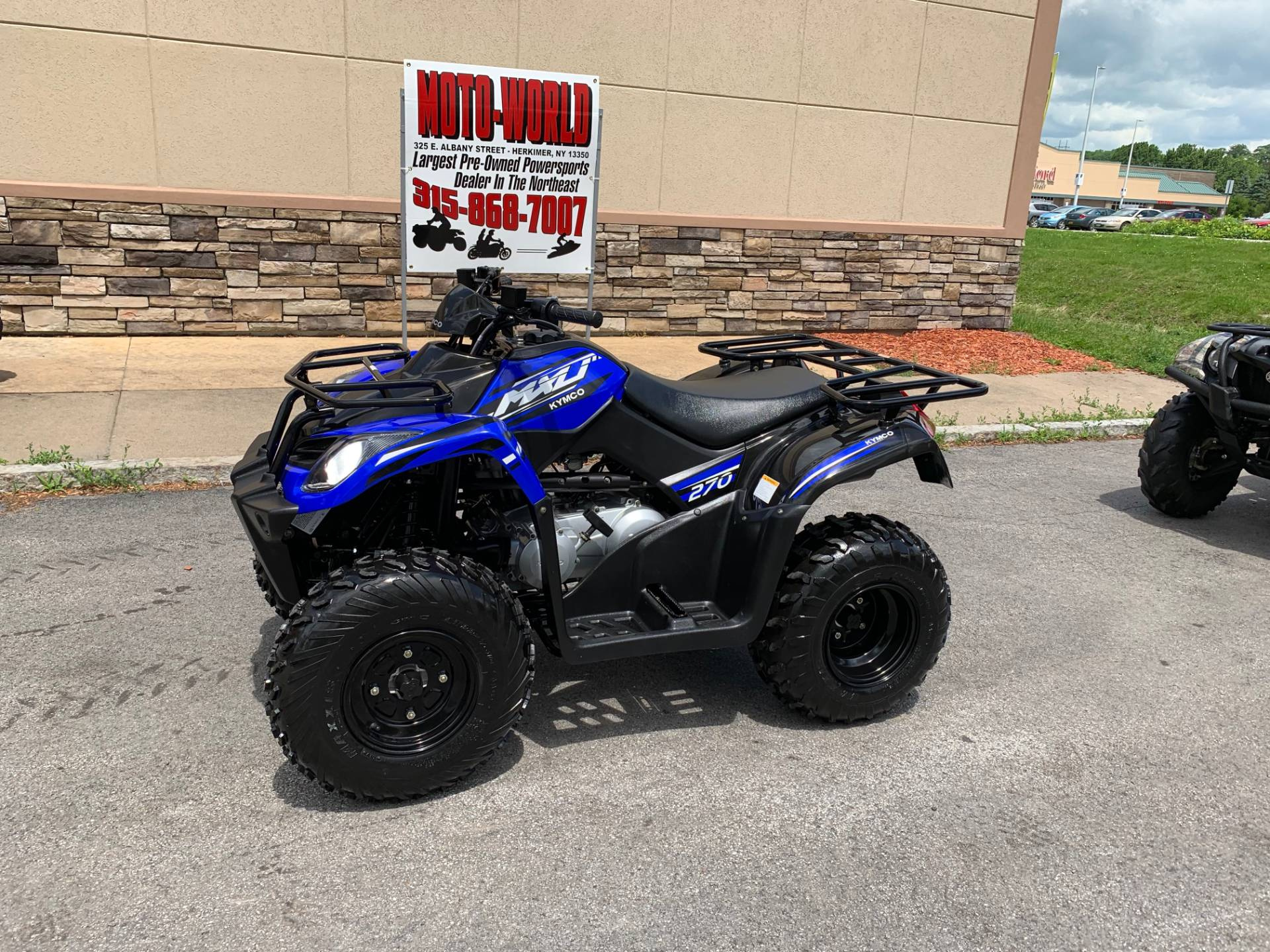2018 Kymco MXU 270 in Herkimer, New York - Photo 3