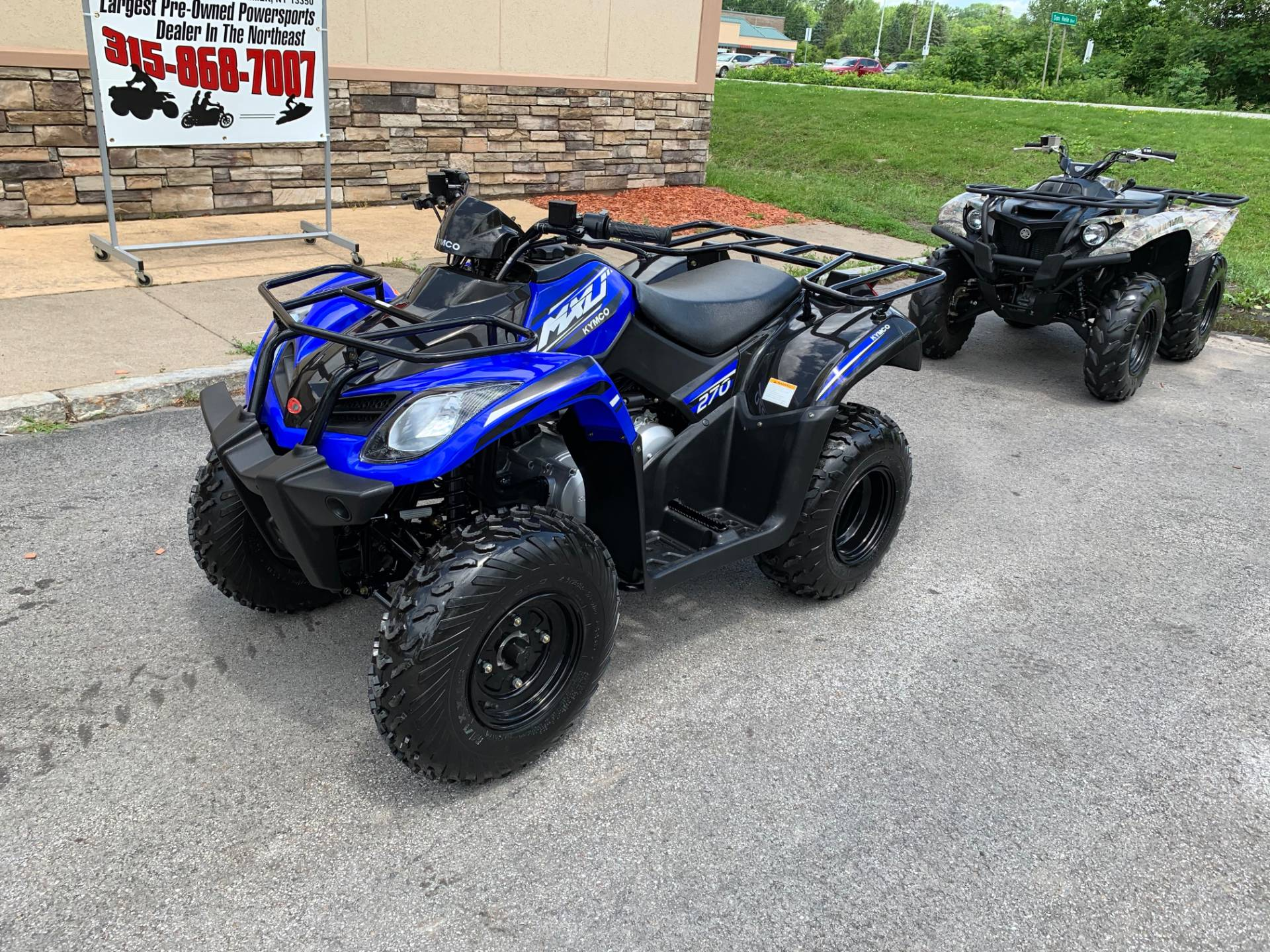2018 Kymco MXU 270 in Herkimer, New York - Photo 12