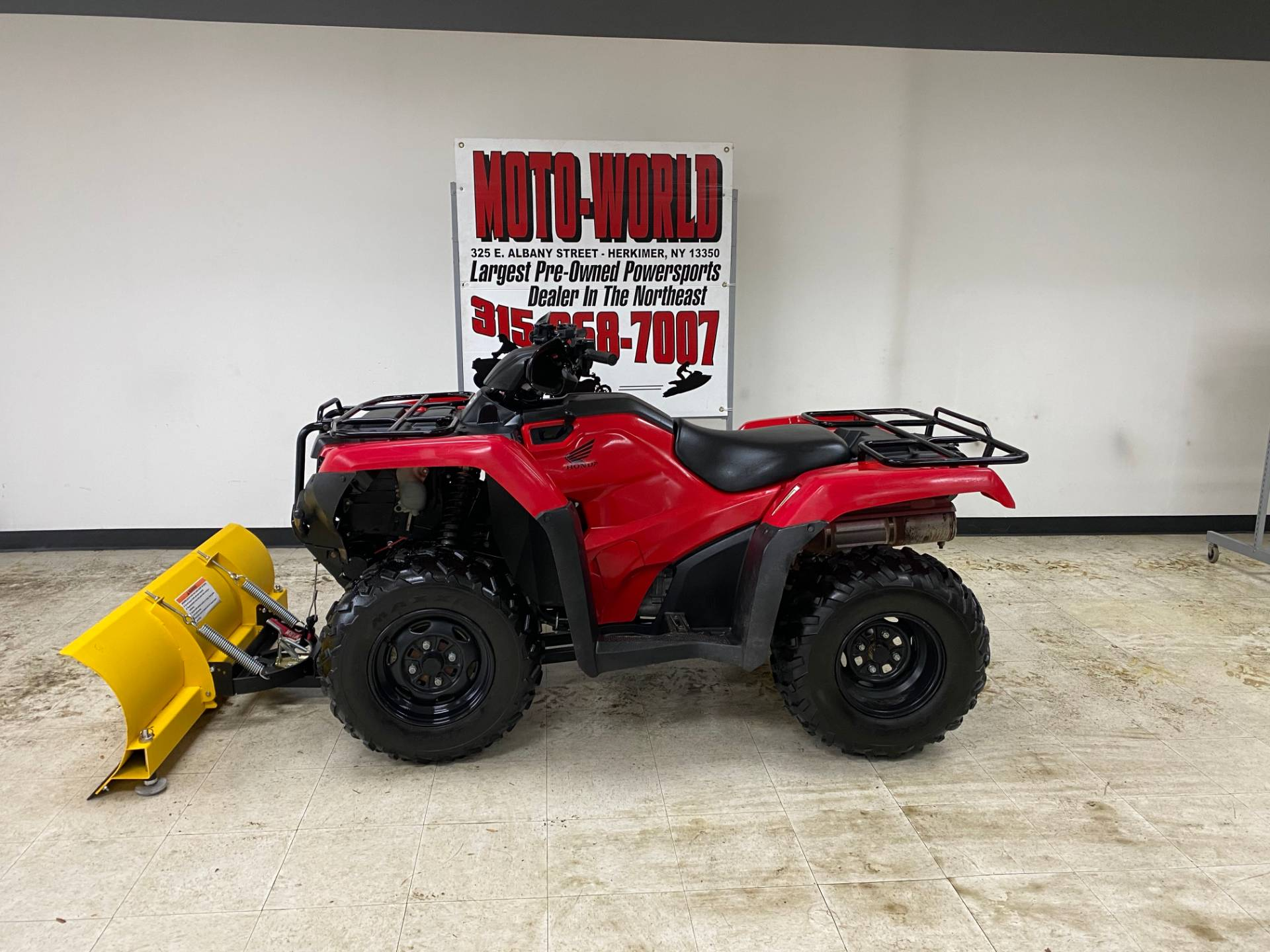 2016 Honda FourTrax Rancher 4x4 ES in Herkimer, New York - Photo 1