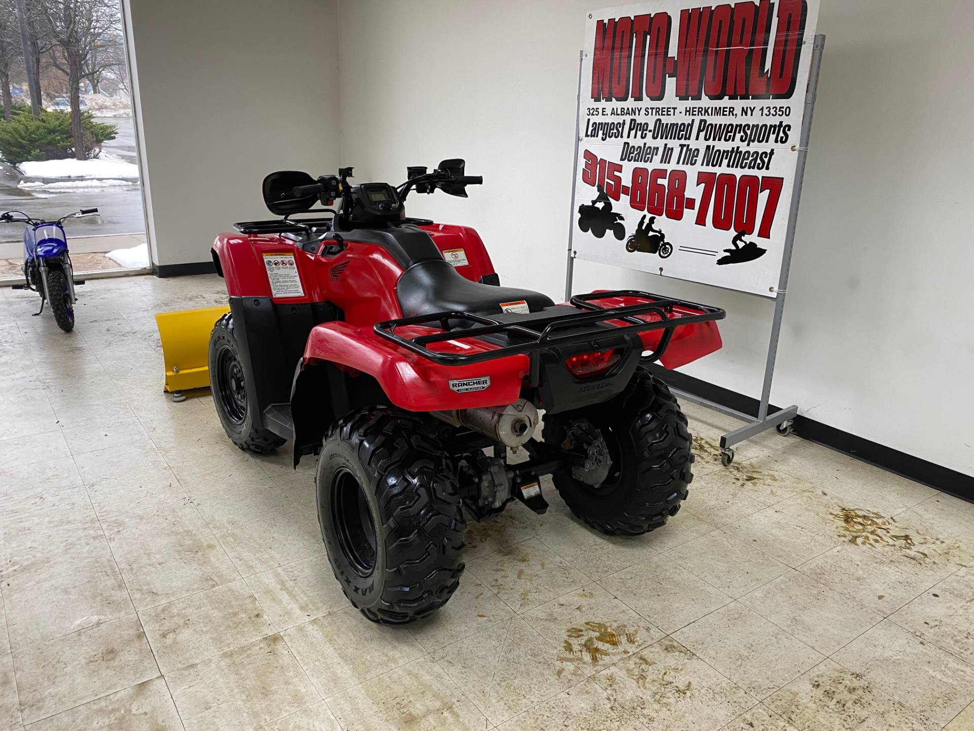 2016 Honda FourTrax Rancher 4x4 ES in Herkimer, New York - Photo 4