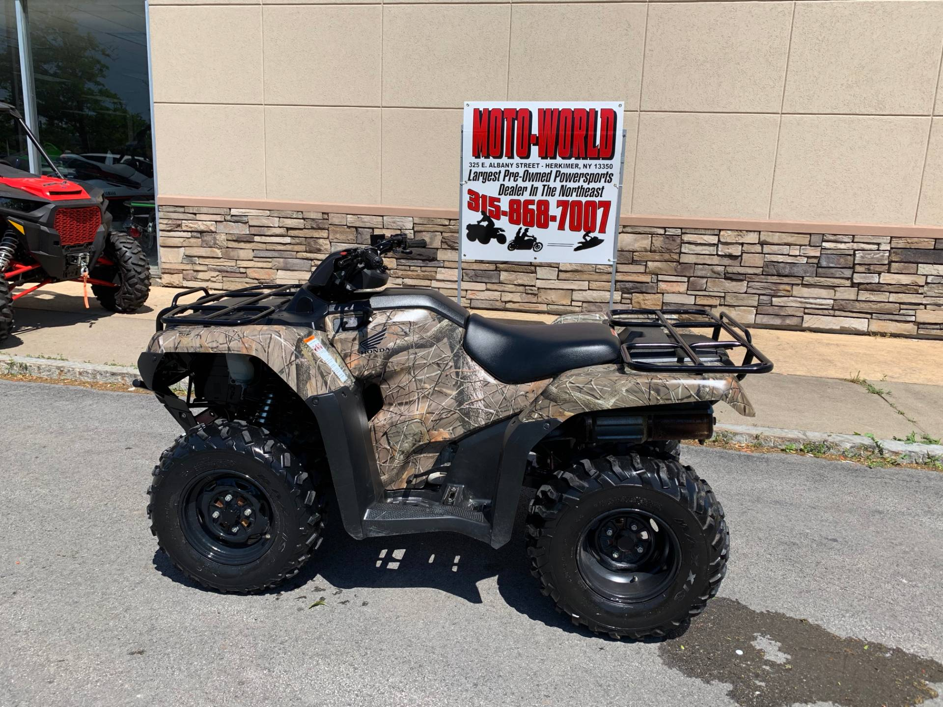 2017 Honda FourTrax Rancher 4x4 in Herkimer, New York - Photo 1