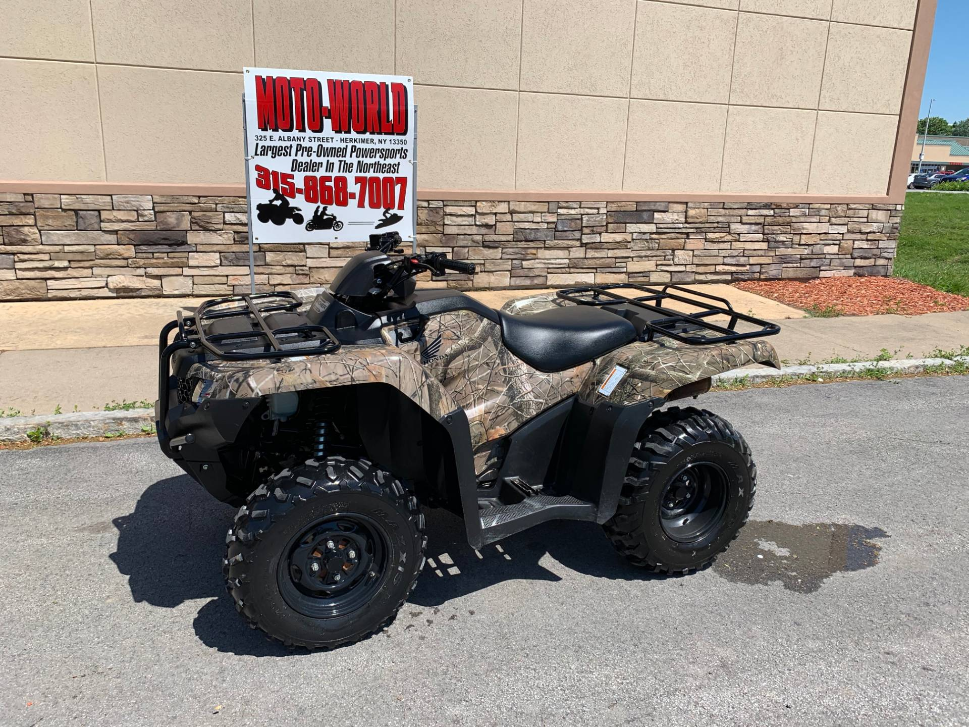 2017 Honda FourTrax Rancher 4x4 in Herkimer, New York - Photo 2