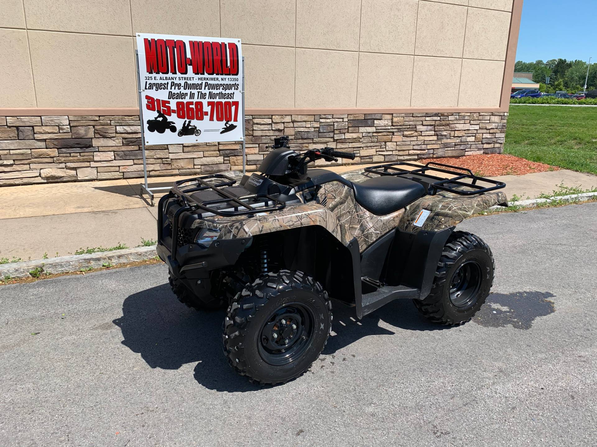 2017 Honda FourTrax Rancher 4x4 in Herkimer, New York - Photo 3