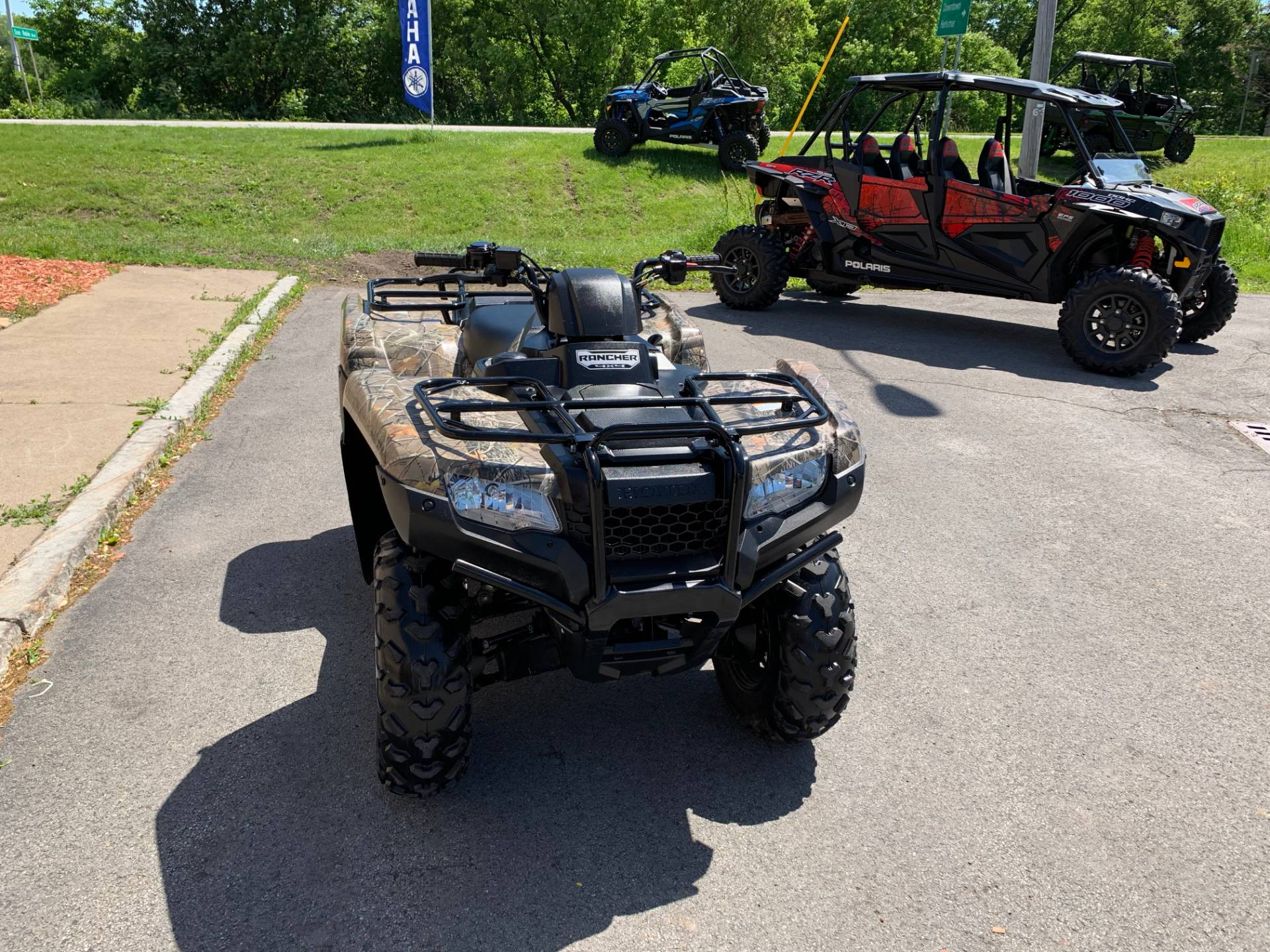 2017 Honda FourTrax Rancher 4x4 in Herkimer, New York - Photo 8