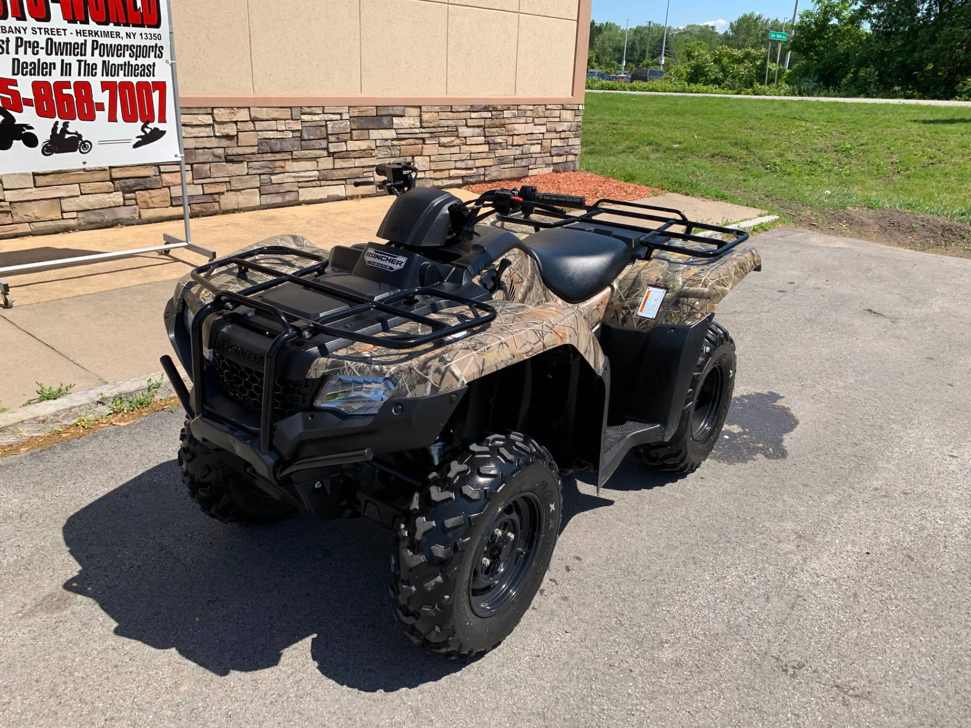 2017 Honda FourTrax Rancher 4x4 in Herkimer, New York - Photo 9