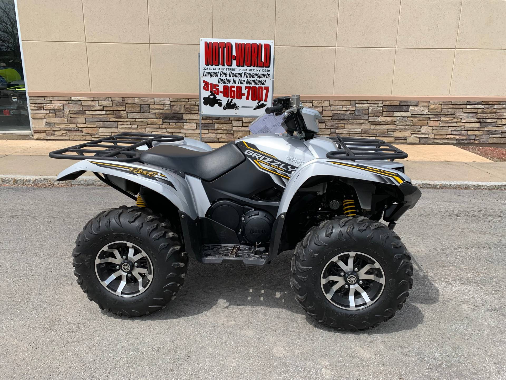 2017 Yamaha Grizzly >> 2017 Yamaha Grizzly Eps Se In Herkimer New York