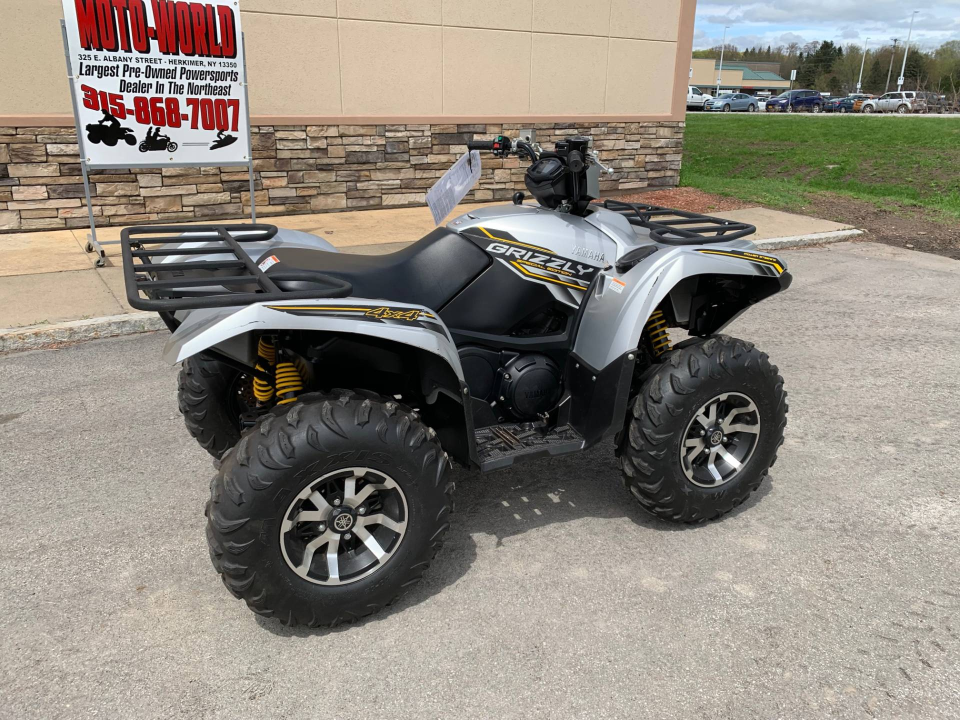 2017 Yamaha Grizzly EPS SE in Herkimer, New York - Photo 3
