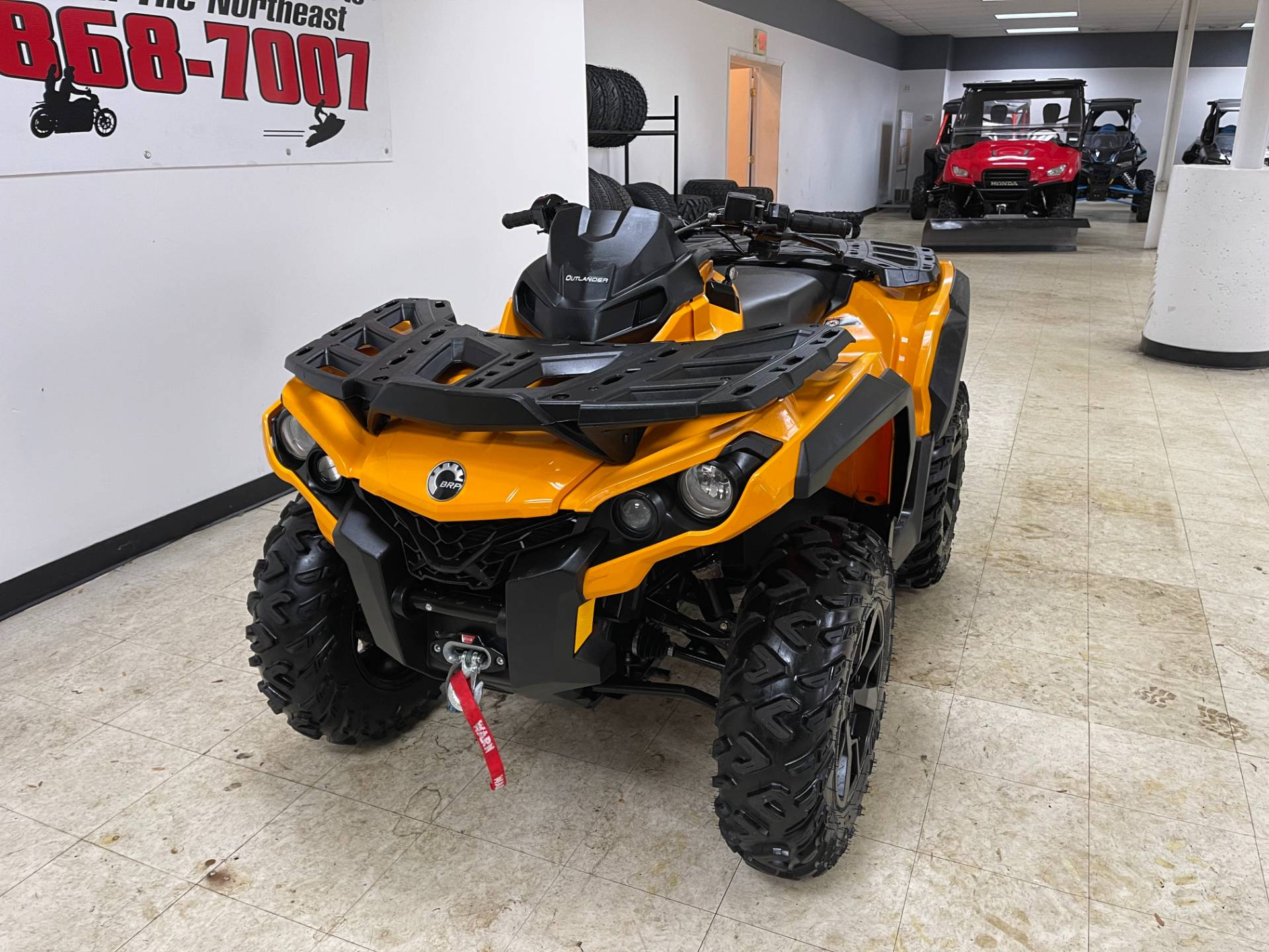 2019 Can-Am Outlander DPS 850 in Herkimer, New York - Photo 5