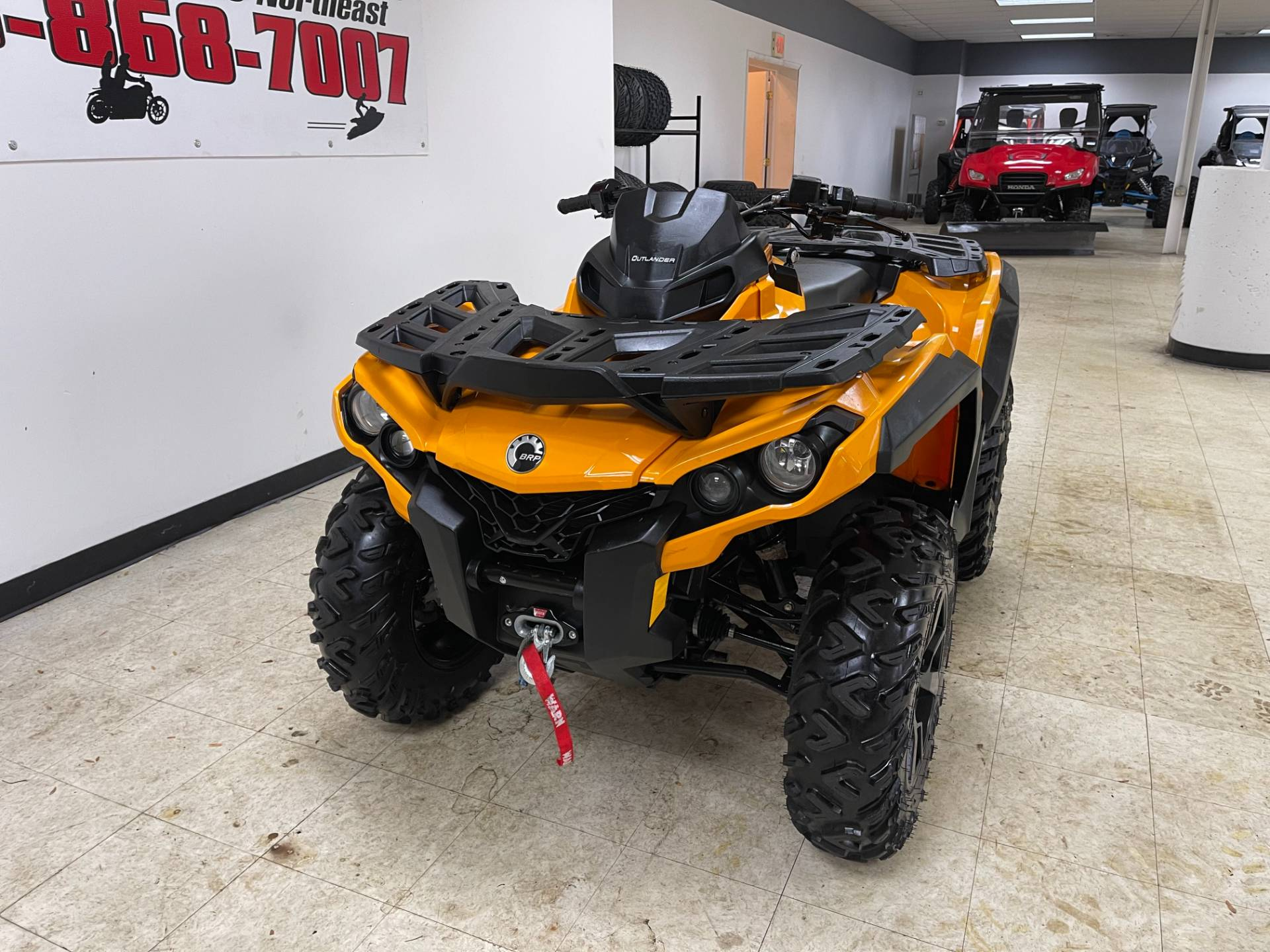2019 Can-Am Outlander DPS 850 in Herkimer, New York - Photo 6