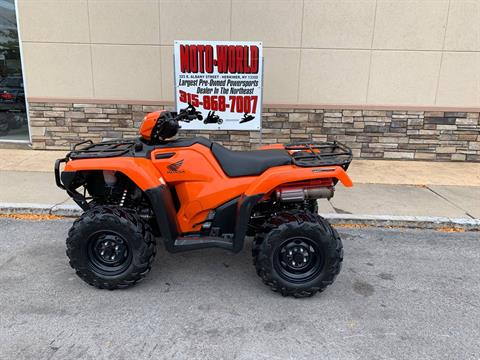 2018 Honda FourTrax Foreman Rubicon 4x4 EPS in Herkimer, New York - Photo 1