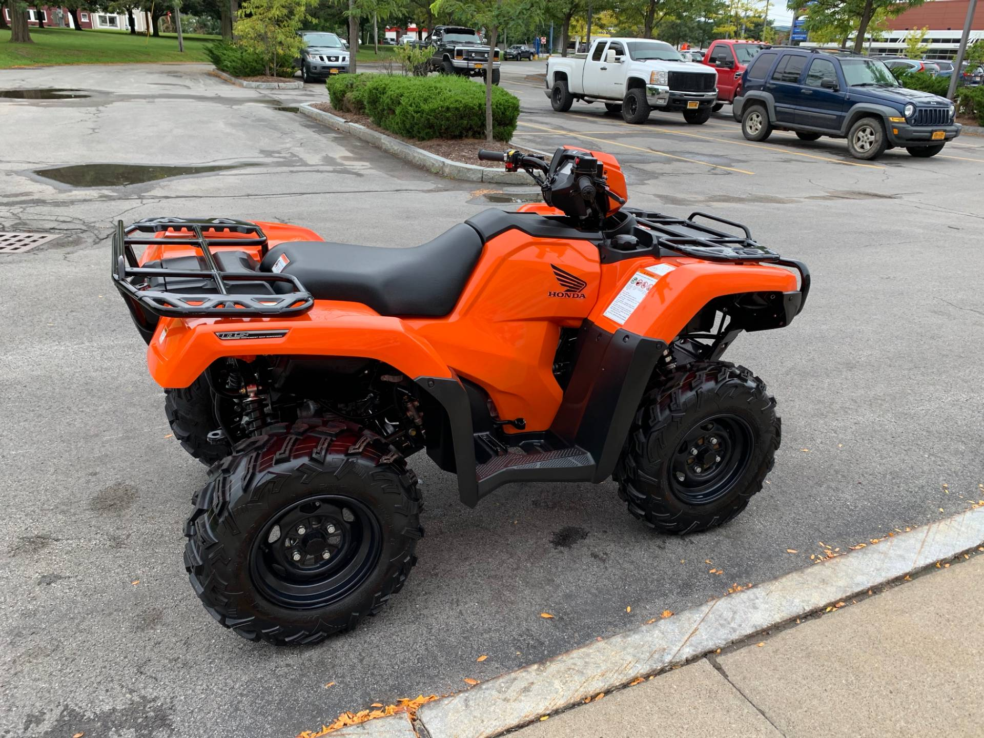 2018 Honda FourTrax Foreman Rubicon 4x4 EPS in Herkimer, New York - Photo 8