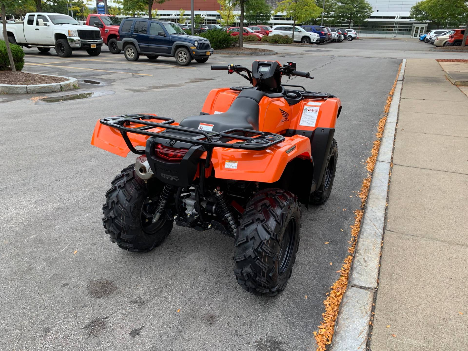 2018 Honda FourTrax Foreman Rubicon 4x4 EPS in Herkimer, New York - Photo 9