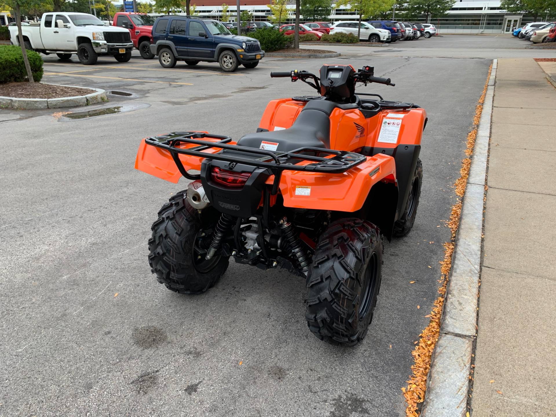2018 Honda FourTrax Foreman Rubicon 4x4 EPS in Herkimer, New York - Photo 10