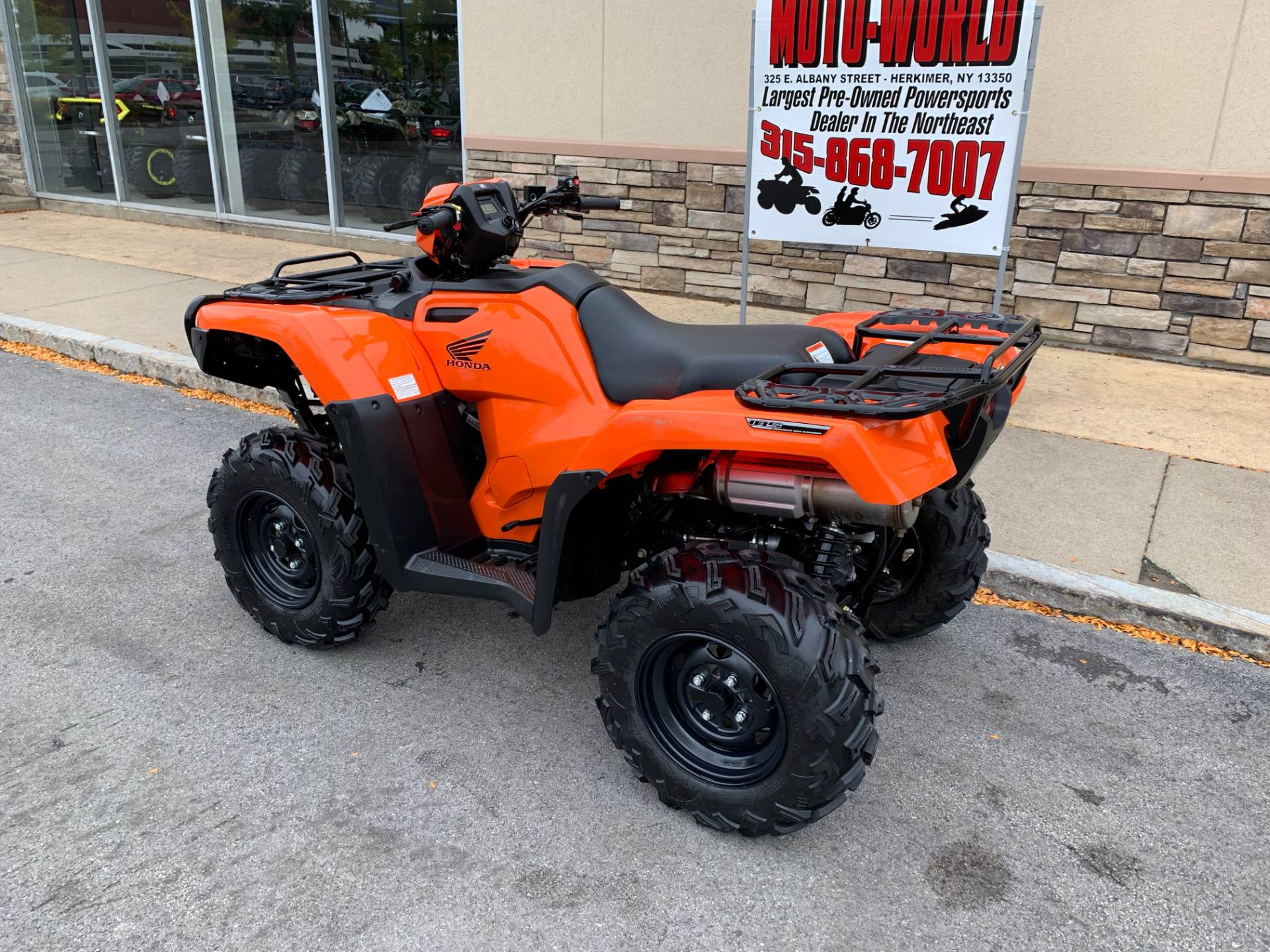 2018 Honda FourTrax Foreman Rubicon 4x4 EPS in Herkimer, New York - Photo 12