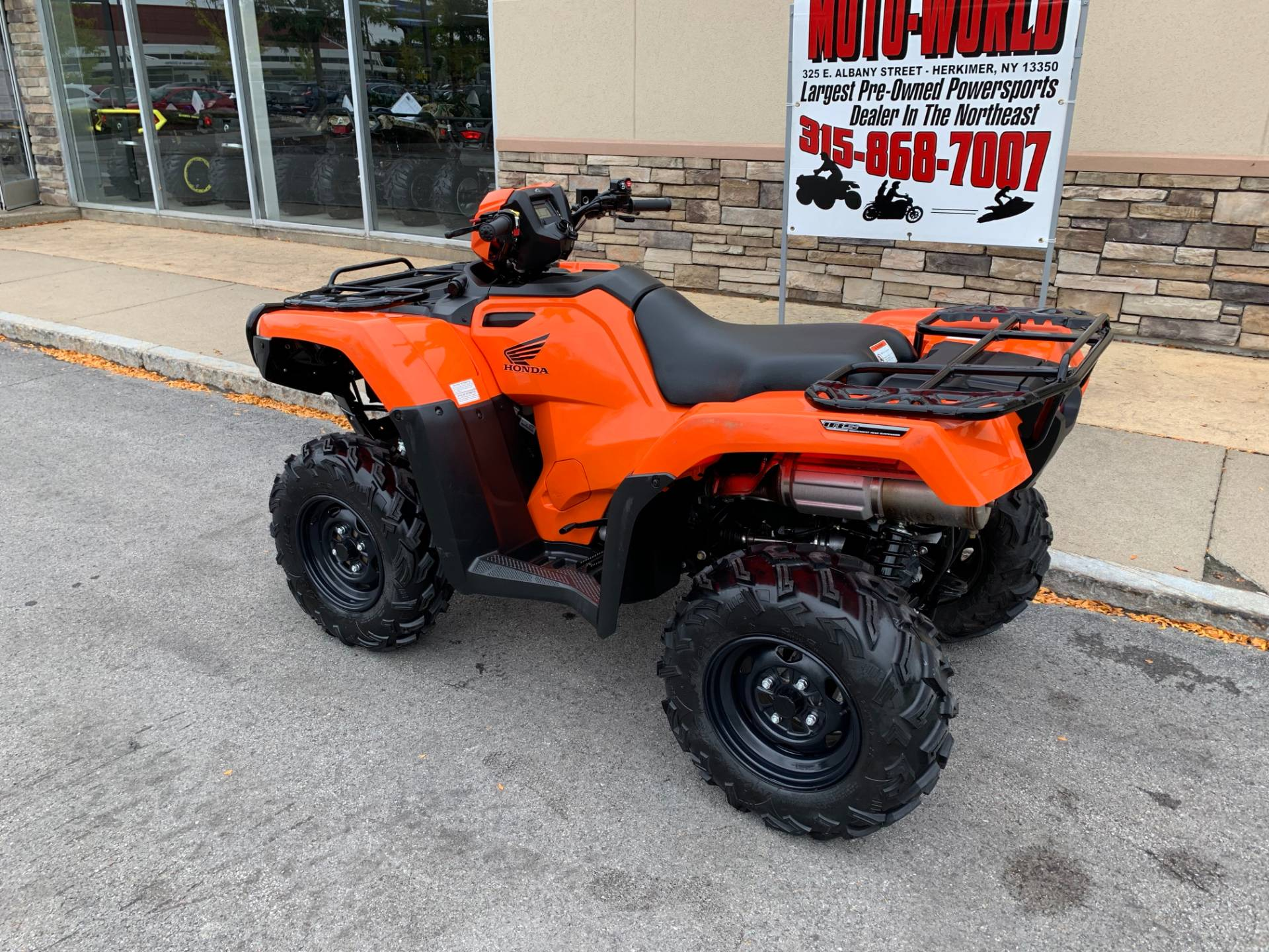 2018 Honda FourTrax Foreman Rubicon 4x4 EPS in Herkimer, New York - Photo 13