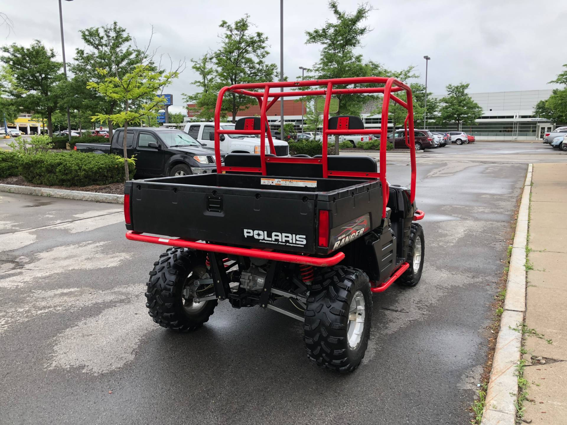 2007 Polaris Ranger XP Midnight Red Limited Edition in Herkimer, New York