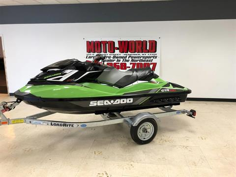 2017 Sea-Doo GTR-X 230 in Herkimer, New York