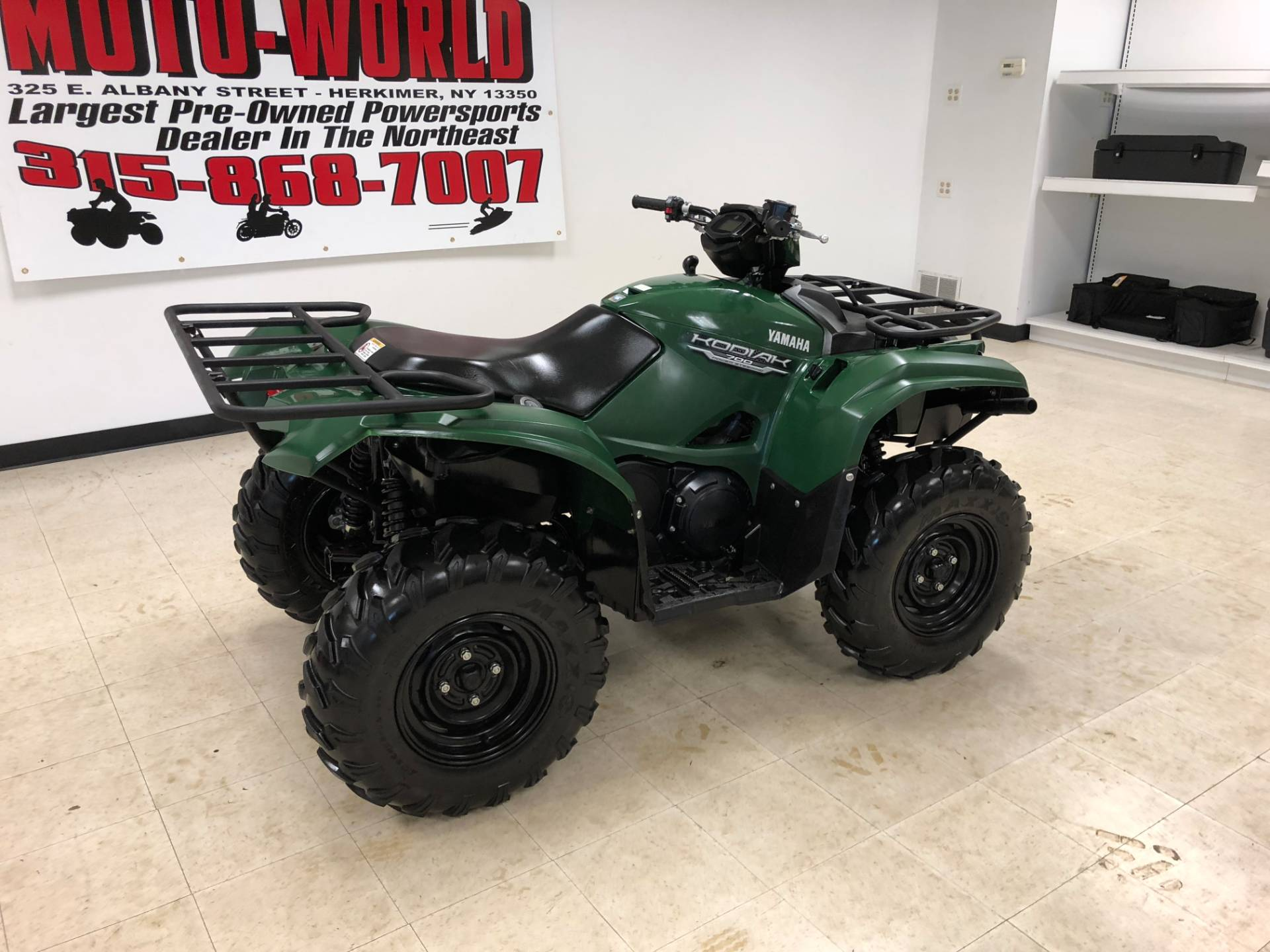 2017 Yamaha Kodiak 700 EPS 3