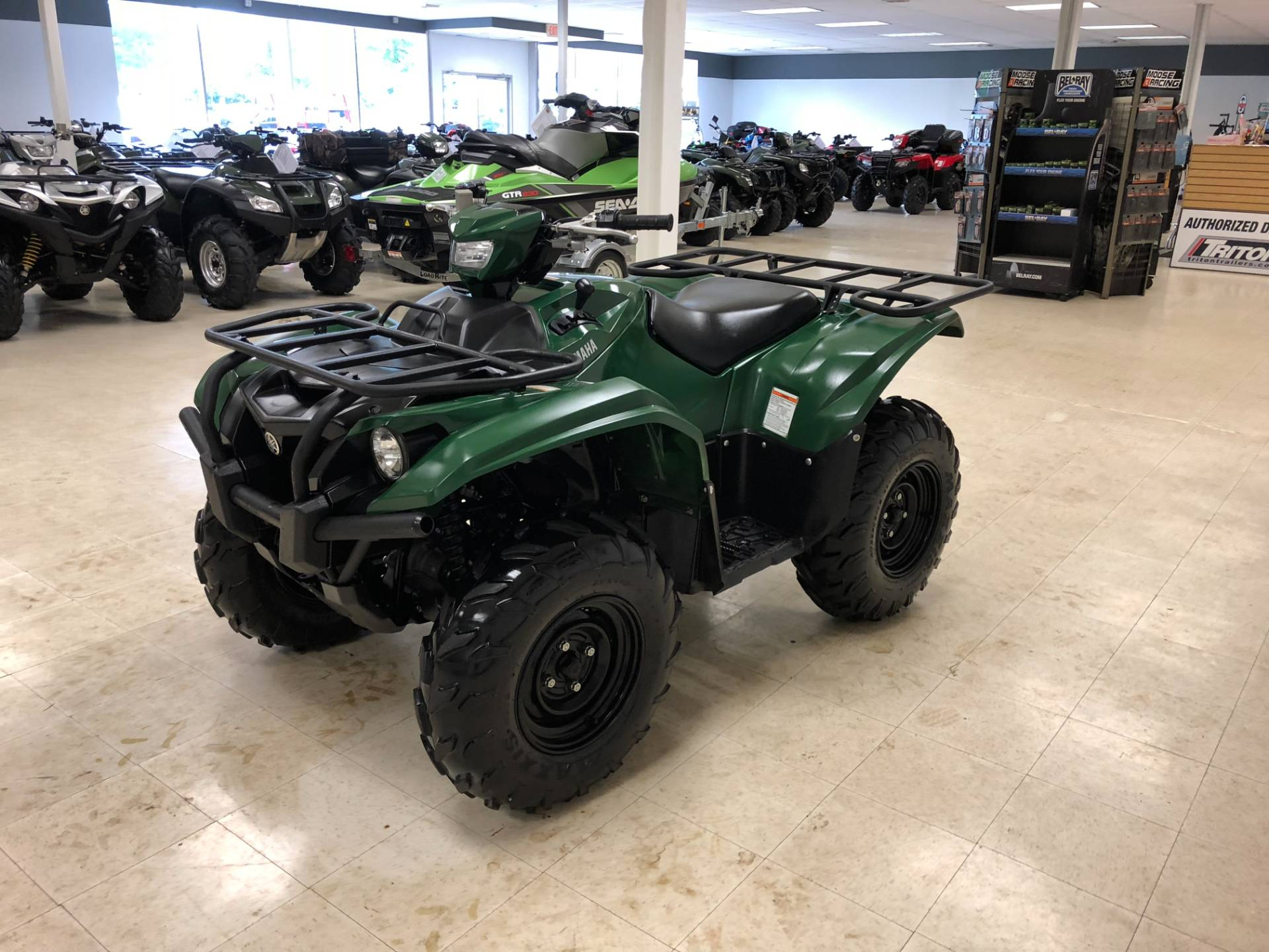 2017 Yamaha Kodiak 700 EPS 8