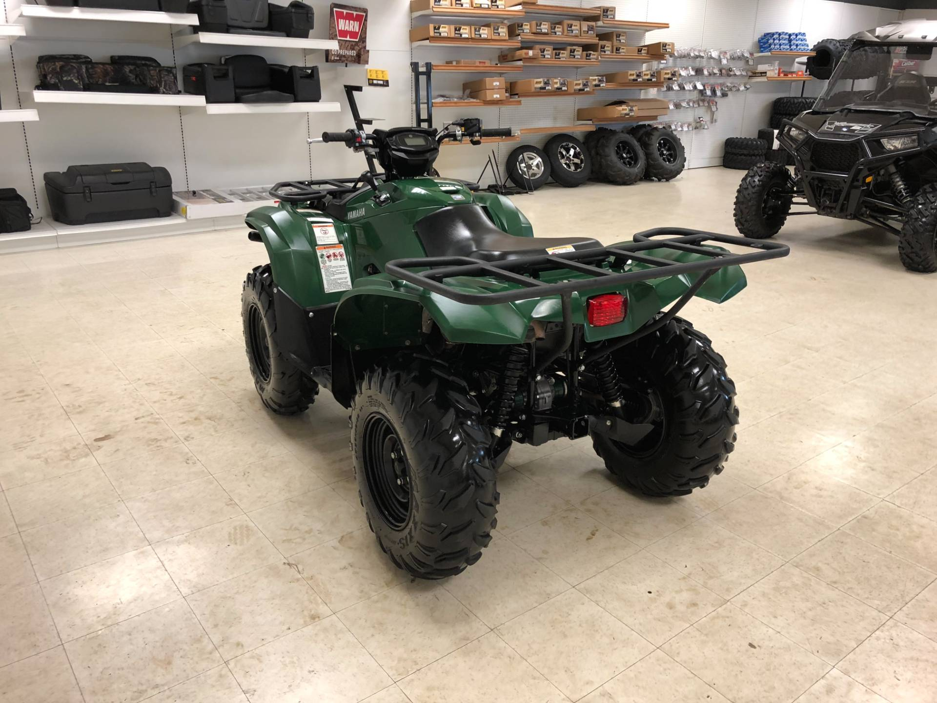 2017 Yamaha Kodiak 700 EPS 10