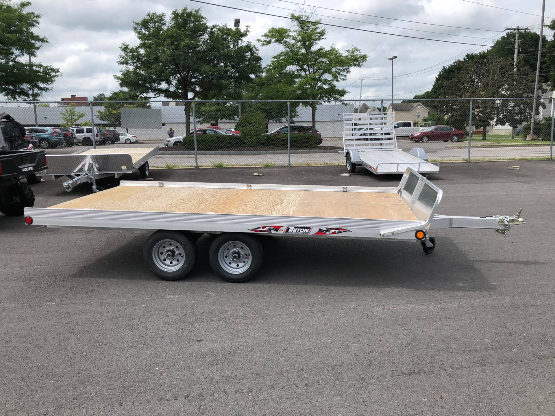 2018 Triton Trailers ATV128-2-TR in Herkimer, New York - Photo 2
