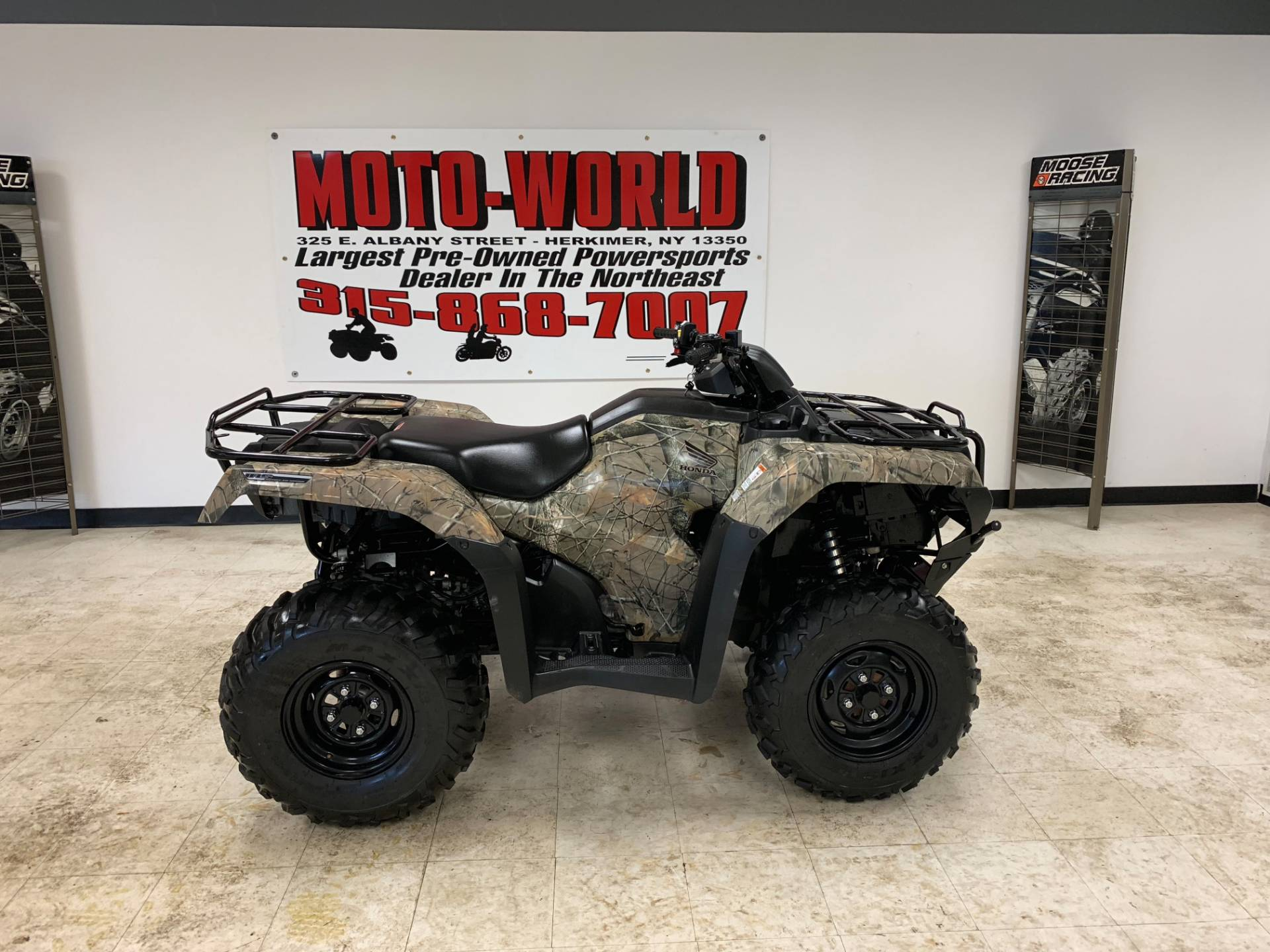 2017 Honda FourTrax Rancher 4x4 DCT IRS EPS in Herkimer, New York