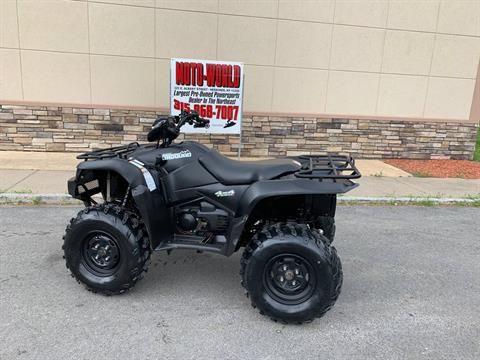 2018 Suzuki KingQuad 750AXi Power Steering Special Edition in Herkimer, New York