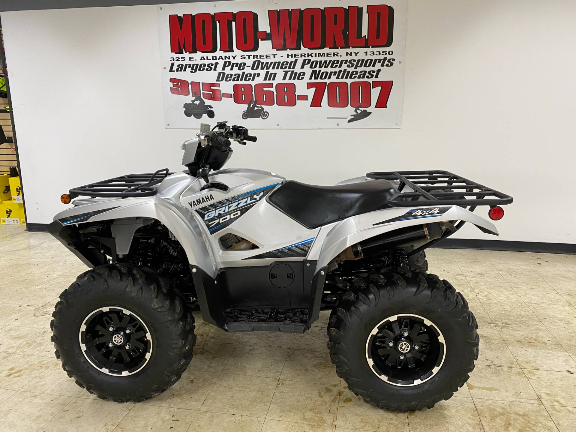 2020 Yamaha Grizzly EPS SE in Herkimer, New York - Photo 1