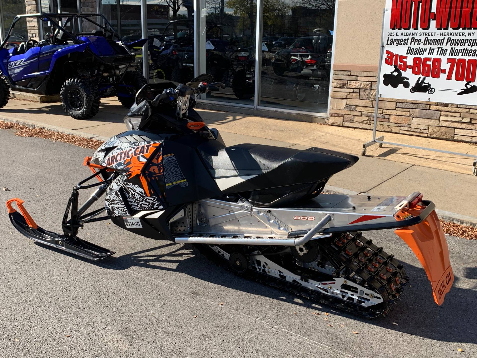 2014 Arctic Cat ZR® 8000 LXR ES in Herkimer, New York - Photo 8