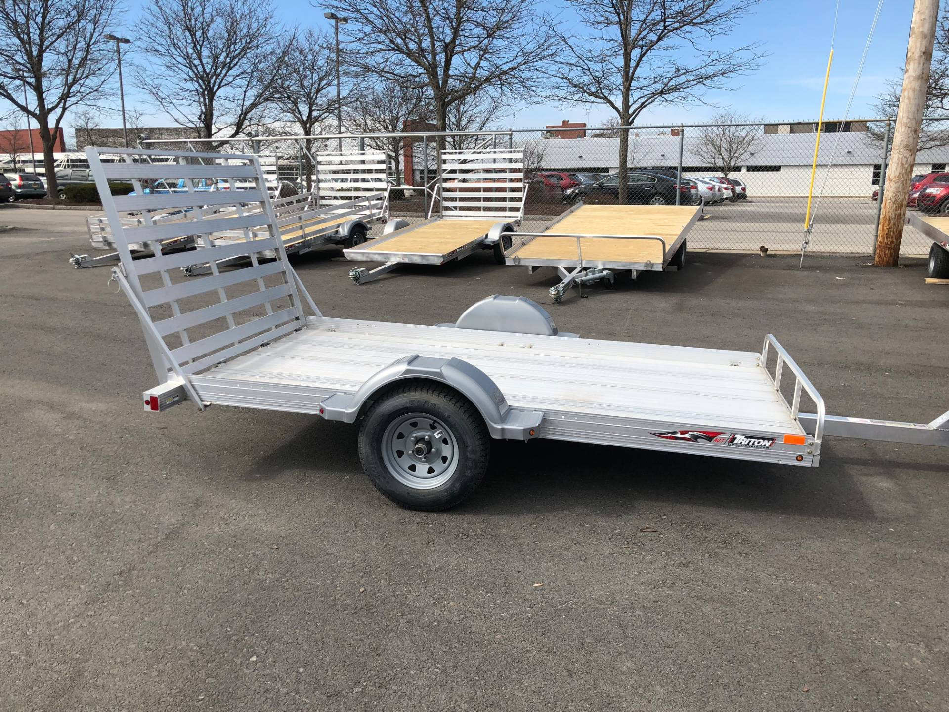New 2018 Triton Trailers Aut1064 Utility In Herkimer Ny Trailer Wiring Harness York