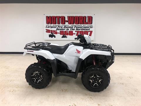 2016 Honda FourTrax Foreman Rubicon 4x4 Automatic DCT EPS Deluxe in Herkimer, New York