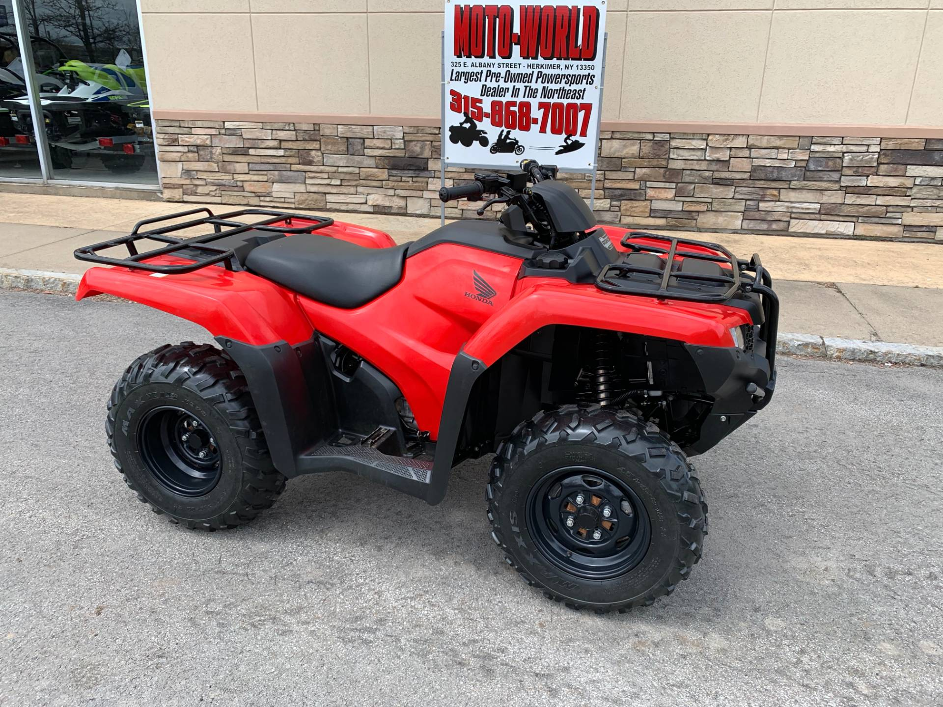 2018 Honda FourTrax Rancher 4x4 in Herkimer, New York - Photo 2
