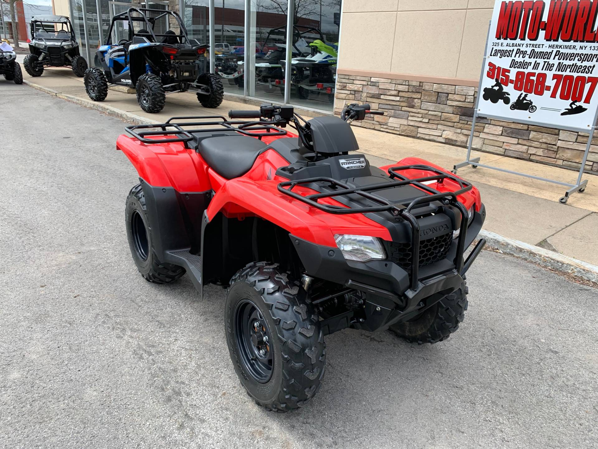 2018 Honda FourTrax Rancher 4x4 in Herkimer, New York - Photo 3