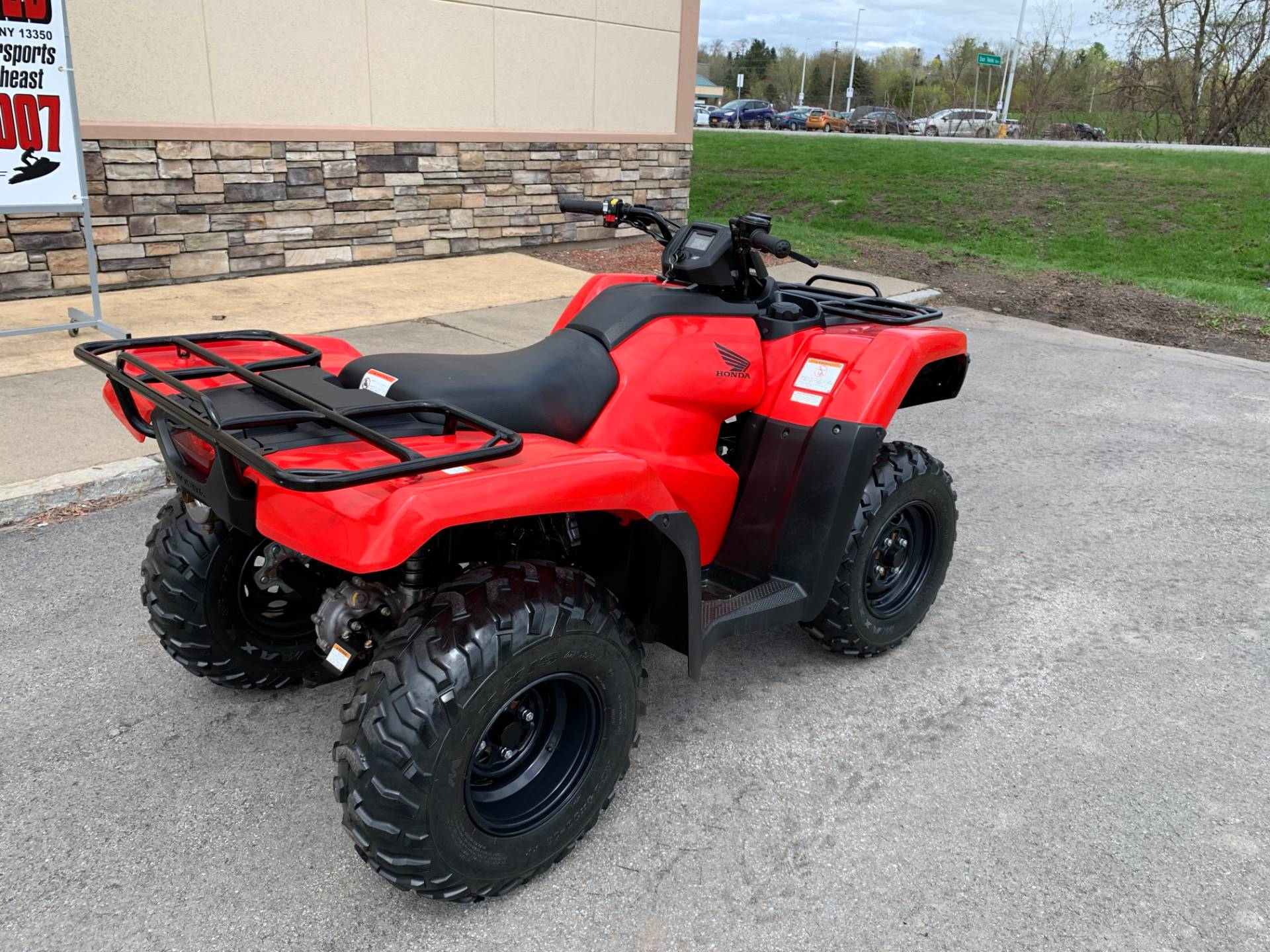 2018 Honda FourTrax Rancher 4x4 in Herkimer, New York - Photo 8