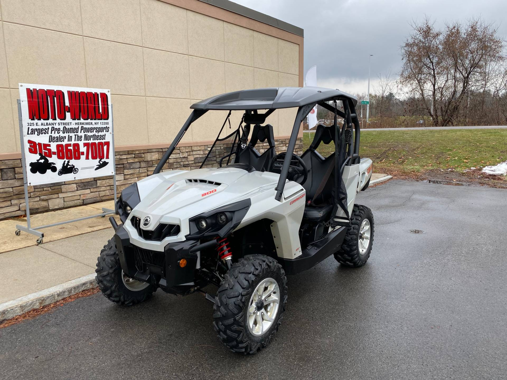 2017 Can-Am Commander DPS 800R in Herkimer, New York - Photo 3
