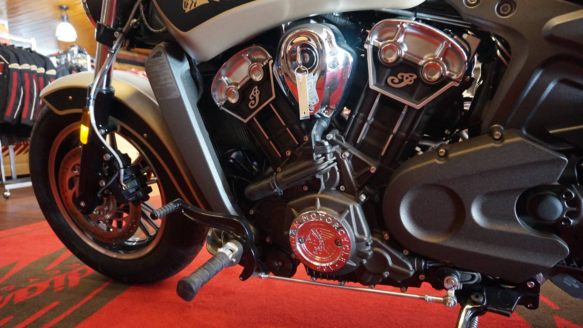 2017 Indian Scout® ABS Icon Series in Racine, Wisconsin