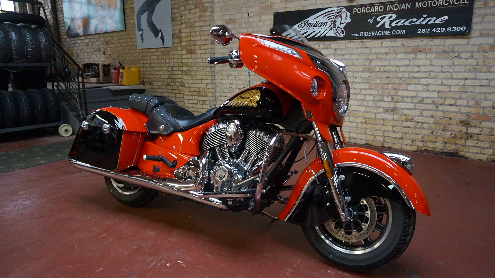 2017 Indian Chieftain® in Racine, Wisconsin