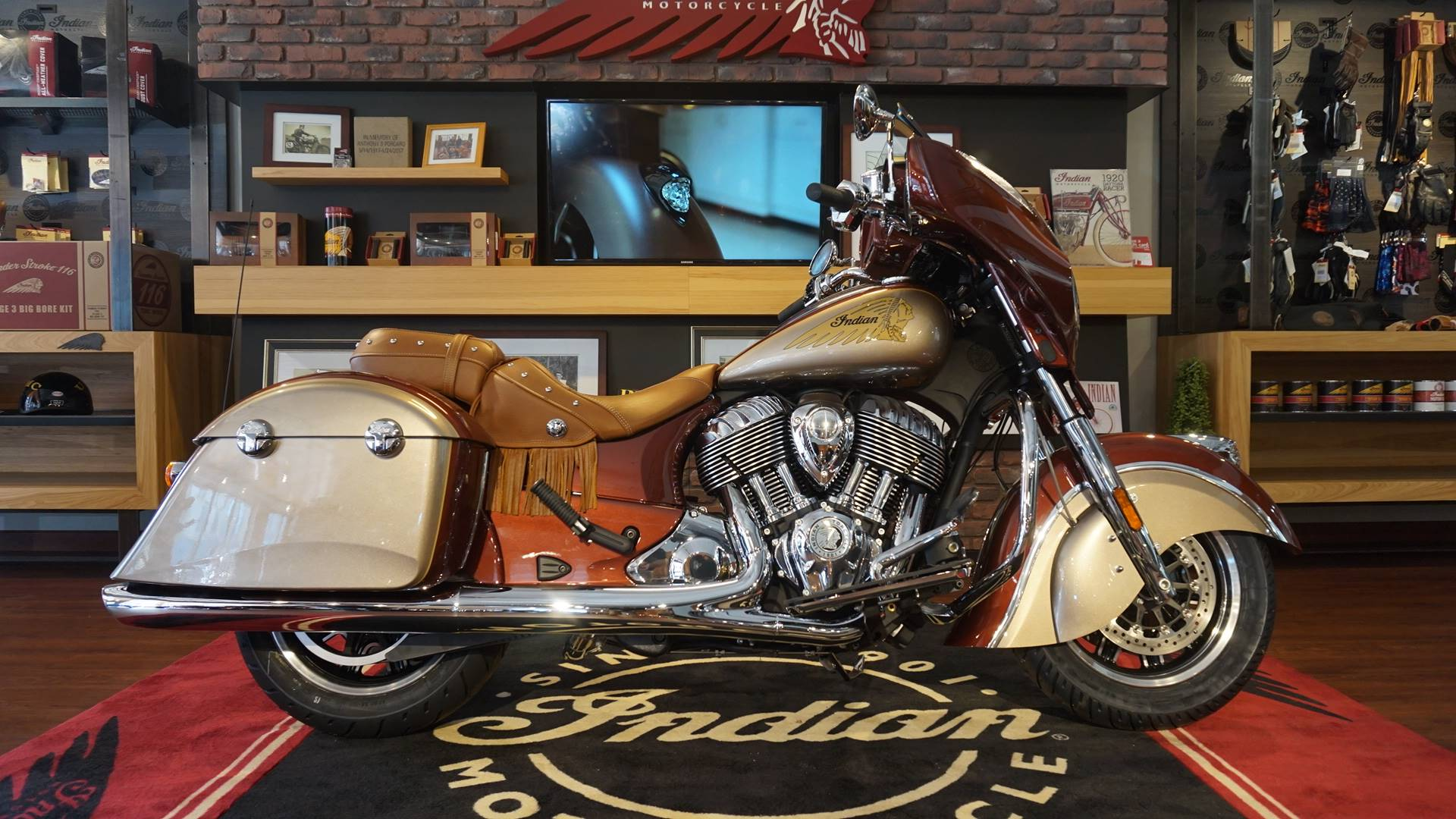 2019 Indian Chieftain® Classic Icon Series in Racine, Wisconsin - Photo 1