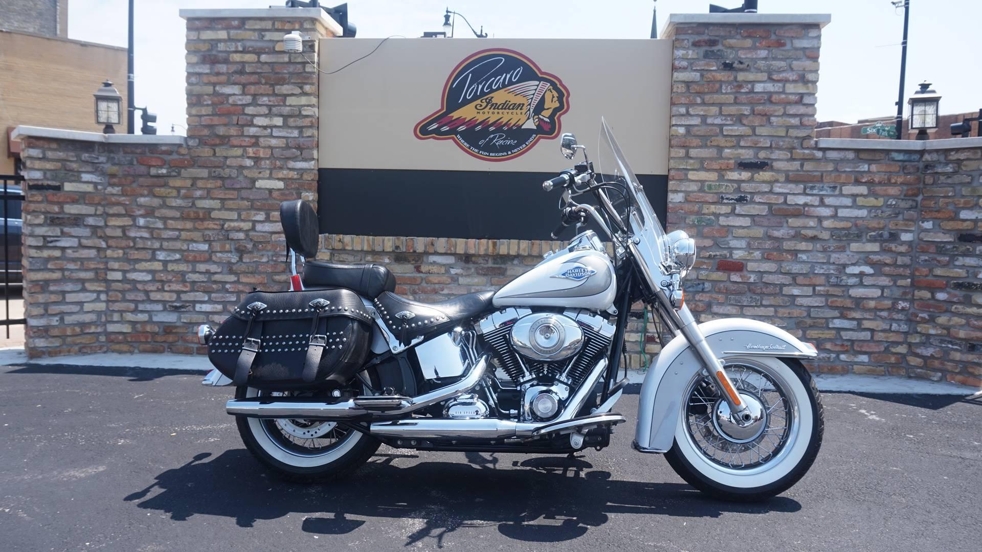Used 2009 Harley-Davidson FLSTC Heritage Softail® Classic ...