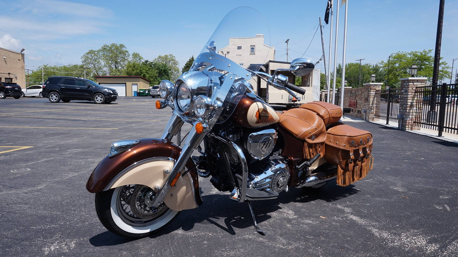 2018 Indian Chief® Vintage ABS in Racine, Wisconsin - Photo 4