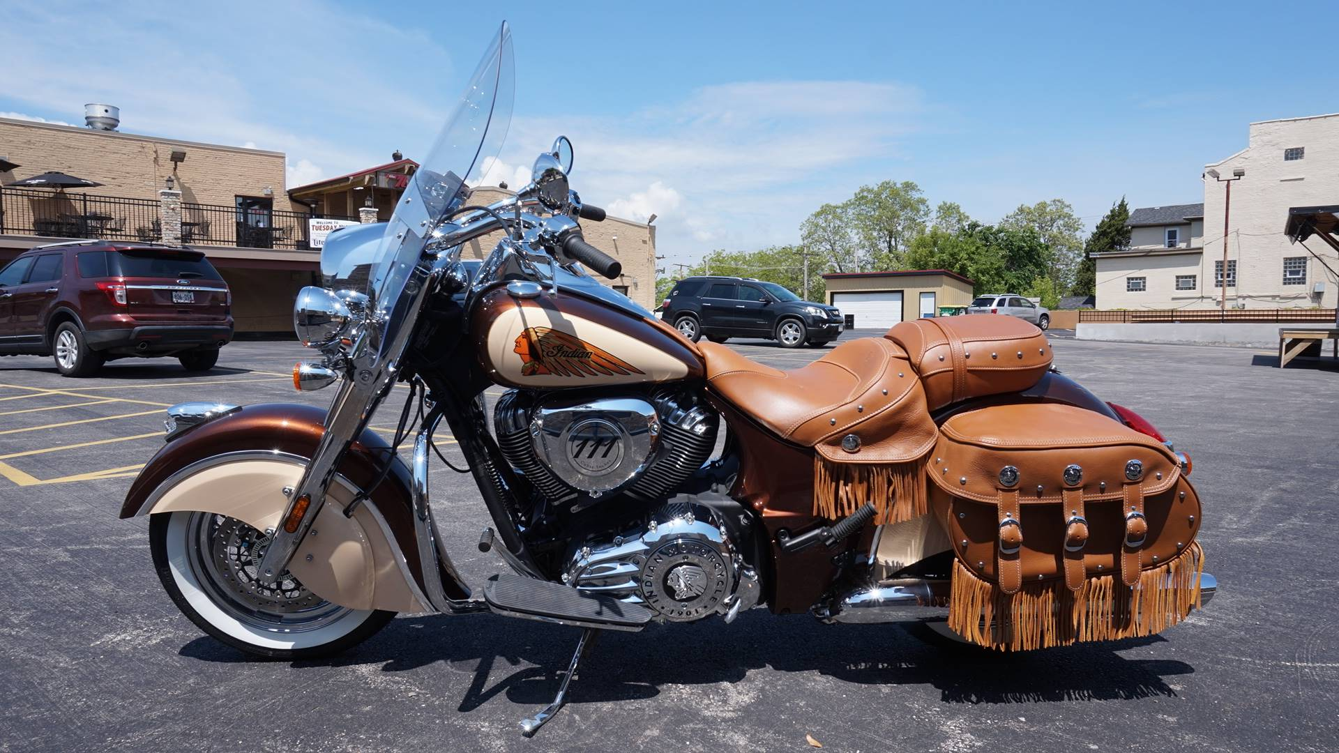 2018 Indian Chief® Vintage ABS in Racine, Wisconsin - Photo 5