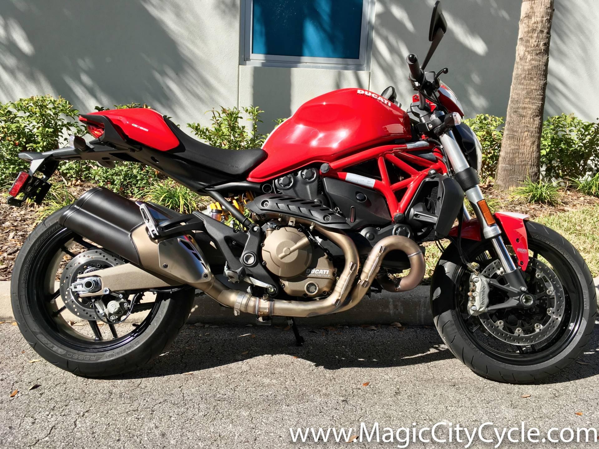 2016 ducati monster 821 motorcycles orlando florida 019408