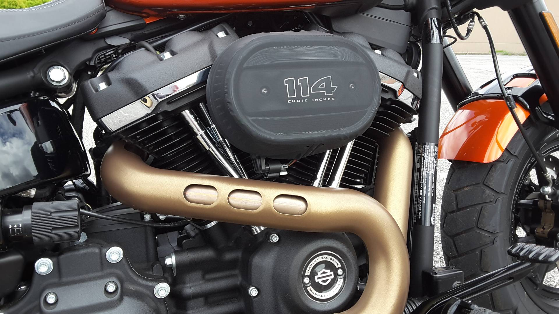 2019 Harley-Davidson Fat Bob® 114 in Roanoke, Virginia - Photo 8