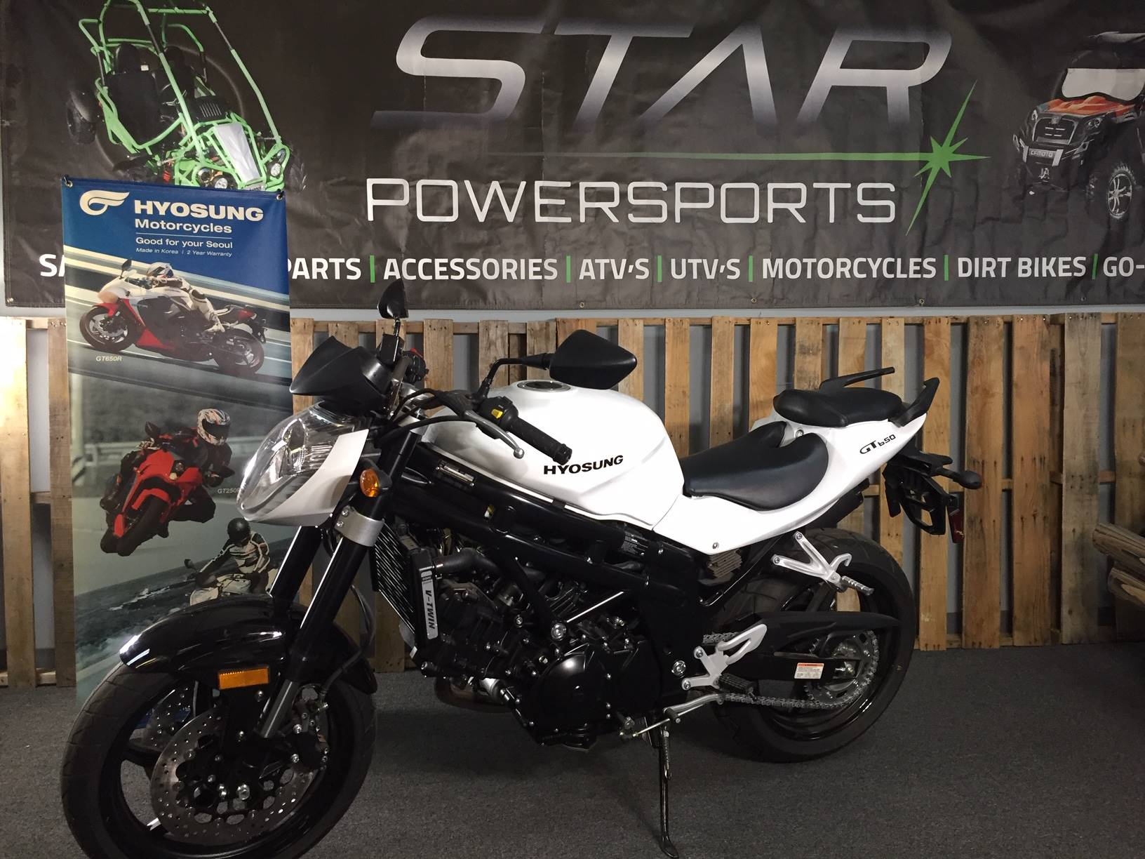 2013 Hyosung GT650 in Knoxville, Tennessee - Photo 1