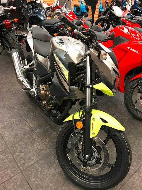2017 Honda CB300F ABS in Vancouver, British Columbia